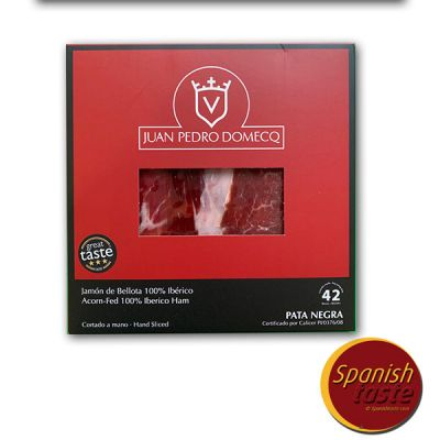 Paquet de jambon 100% ibérique Bellota Domecq 80gr